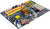 Gigabyte P35-DS3L rev. 1.0 + Core 2 Duo E8500 + DDR2 2x2Gb