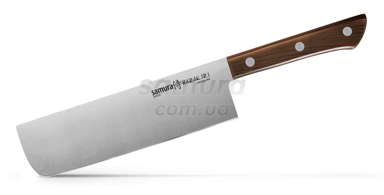 Нож кухонный овощной Накири, 161 мм, Samura Harakiri (SHR-0043WO)