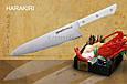 Нож кухонный Шеф, 208 мм, Samura Harakiri (SHR-0085W), фото 3