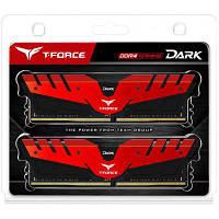 Модуль памяти для компьютера DDR4 16GB (2x8GB) 2400 MHz Dark Red Team (TDRED416G2400HC14DC01)