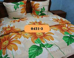 Двуспальный комплект постельного белья из бязи, Арт. 0421-3