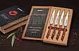 Набор из 4-х стейковых ножей в подарочной коробке, Samura (SSK-004), фото 2