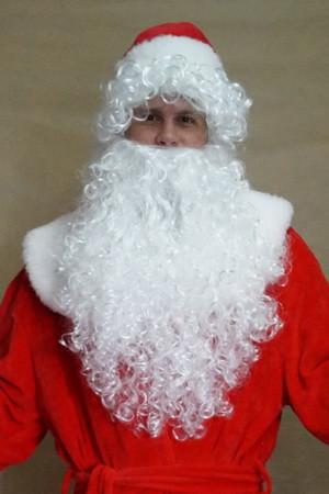 Шикарна борода Діда Мороза або Санта Клауса