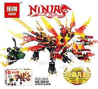 Конструктор Lepin «Трёхголовый Огненный Дракон Кая (Серия Ninjsaga»  350 дет.