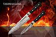 Набор из 2-х кухонных ножей (универсальный, Шеф) в подарочной коробке, Samura Tamahagane (ST-0210), фото 3
