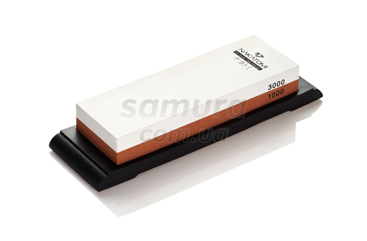 Камень точильный водный, комбинированный, зернистость 1000/3000, Samura (SCS-1300/M)
