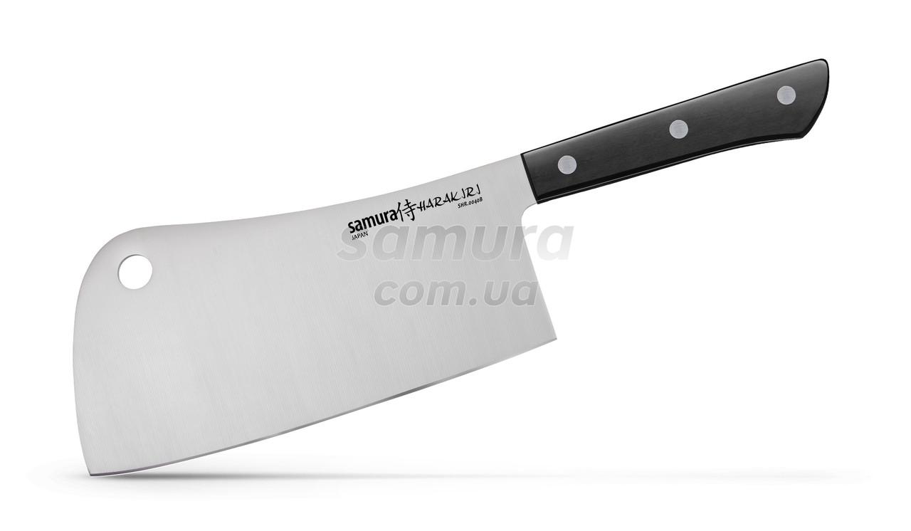 Нож-топорик кухонный для мяса, 180 мм, Samura Harakiri (SHR-0040B)