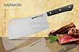 Нож-топорик кухонный для мяса, 180 мм, Samura Harakiri (SHR-0040B), фото 3