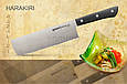 Нож кухонный овощной Накири, 161 мм, Samura Harakiri (SHR-0043B), фото 3