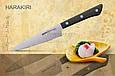 Нож кухонный универсальный, 120 мм, Samura Harakiri (SHR-0021B), фото 3