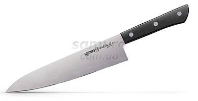 Нож кухонный Шеф, 208 мм, Samura Harakiri (SHR-0085B)