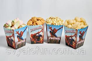 """Коробочка для попкорна и сладостей  """"Человек паук"""""""