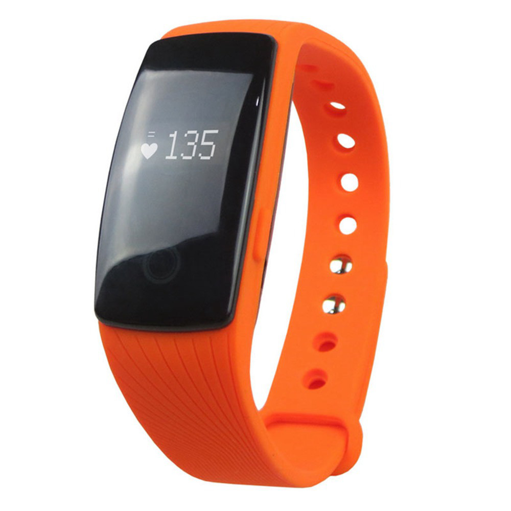 Фитнес-трекер Smart Band ID107 Оранжевый