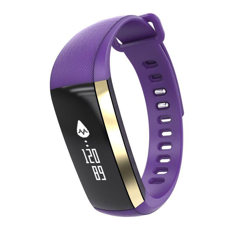 Фитнес-трекер Smart Band M2 Tonometr Пурпурный