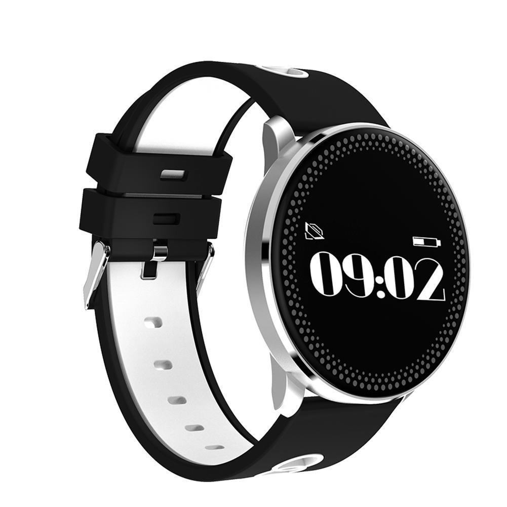 Фитнес-трекер Smart Band CF007 Tonometr Черно-белый