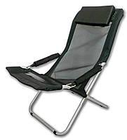 Кресло-шезлонг складной Ranger Comfort 2 (черный цвет)