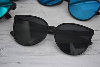 Солнцезащитные женские очки кошка крупные
