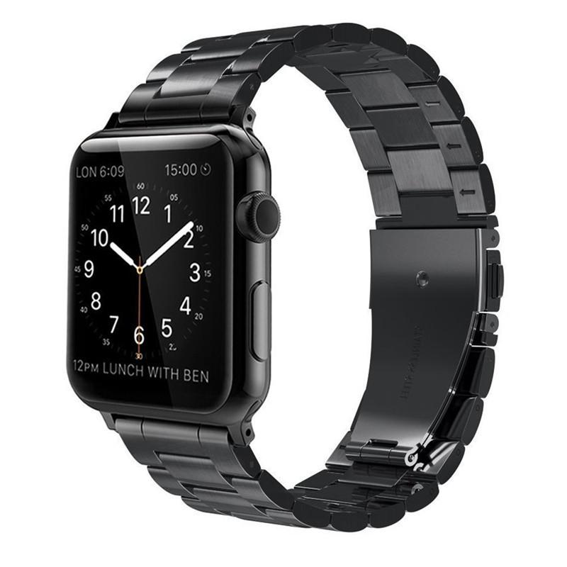 Ремешок ArmorStandart Classic для Apple Watch 38 мм Black (42031)