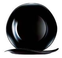 Тарелка обеденная Luminarc Volare Black квадратная 27х27 см стеклокерамика (7045)