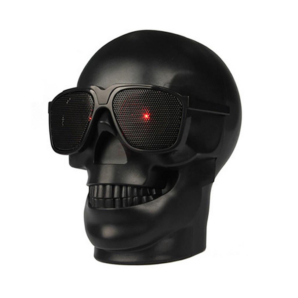 Портативная Bluetooth колонка Череп Skull CH-M29 Black