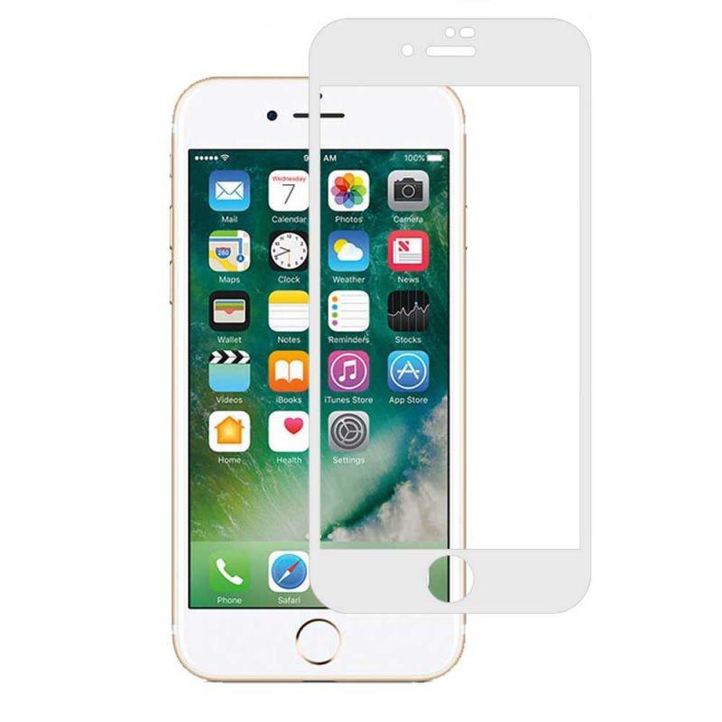 Защитное стекло ZOOL для Apple iPhone 8 Rinco 3D Full Cover White