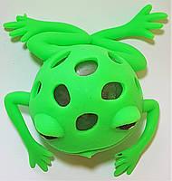 Антистресс Прикол лягушка с жуками