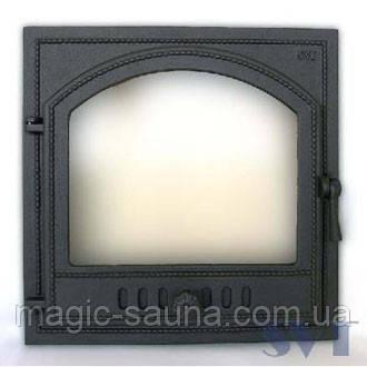 Дверца печная,( герметичная svt410) 325х290