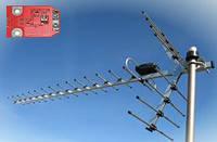 Т2 Антенна Волна 2-24 Цифра Макси с усилителем