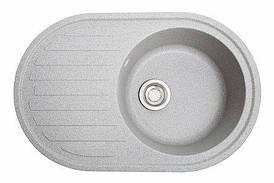 Кухонна мийка гранітна ЕЛЕГАНТ сірий