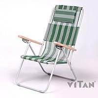 Кресло-шезлонг Vitan Ясень бело-зеленый