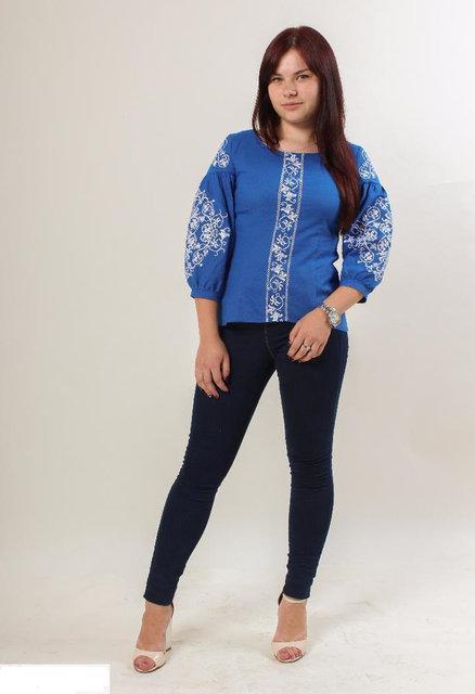 Женская оригинальная вышитая блуза