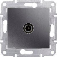 SDN3201670 Розетка телевізійна одиночна, графіт Schneider Electric Sedna
