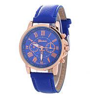 Классические женские часы GENEVA UNO BLUE