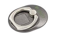 Кольцо держатель для смартфонов PowerPlant, черный