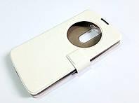 Чехол книжка с окошком momax для LG L Bello / L Prime d331 / d335 / d337 белый