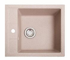 Кухонна мийка гранітна БРИЗ рожевий