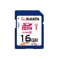 Карта памяти RiDATA SDHC 16GB Class 10 UHS-I