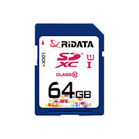 Карта пам'яті RiDATA SDXC 64GB Class 10 UHS-I