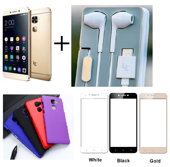 LeEco Le S3 X522 3/32GB gold +чехол+пленка+CDLA наушники Snapdragon 652 / 16Мп/ 3000мАч