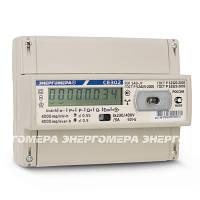 Счётчик электроэнергии однотарифный ce 302 r31 543 jy, трехфазный, на рейку, два направления учета, оптопорт, фото 1