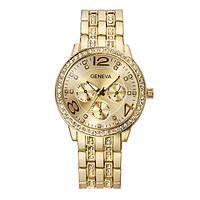 Классические женские часы GENEVA GOLD