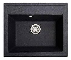 Кухонна мийка гранітна ГРОСС чорний