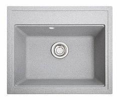 Кухонна мийка гранітна ГРОСС сірий