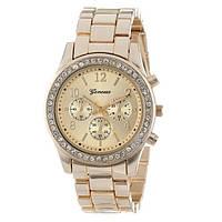 Классические женские часы GENEVA BUENO GOLD