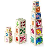 Кубики Viga toys (50392)