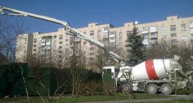 Заказ бетона бетононасосом кабель бетона