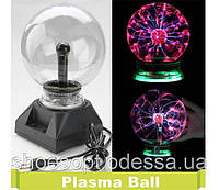 """Плазменный шар 5"""" 13см ночник светильник плазма шар"""