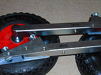 Транцевые колеса автоматические