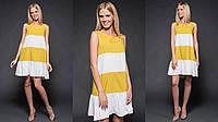 Платье двух цветное в расцветках 34008, фото 1