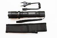 Фонарик BL 1101  + отпугиватель, Электрошокер Police фонарь 2 в 1, Ручной фонарик с шокером